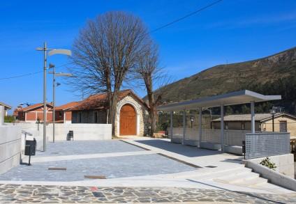 Plaza en Lusa